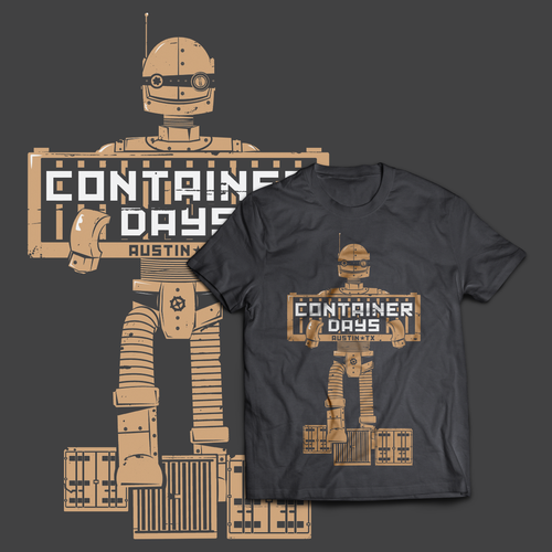 Container Days T-shirt design