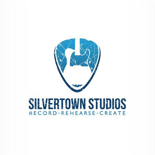 Record studio logo