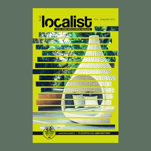 magazine cover for The Localist