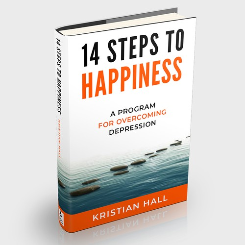 Book Cover Concept for Happiness Book
