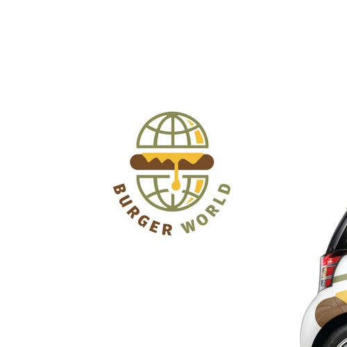 Logo Design for Burger World.