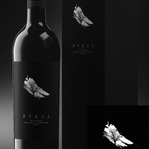 Pyrus Label Design
