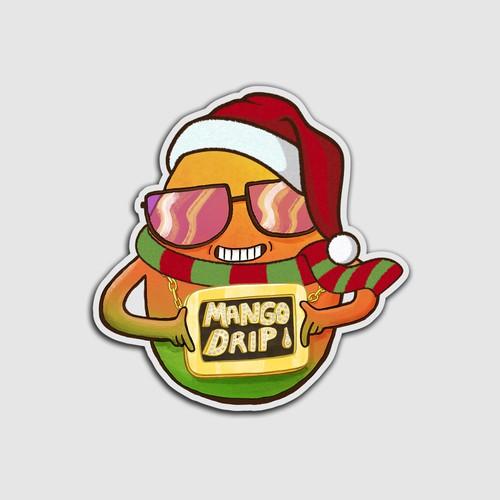 sticker christmas edition