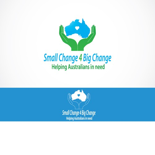 Create a logo that will receive national exposure to increase charitable giving in Australia