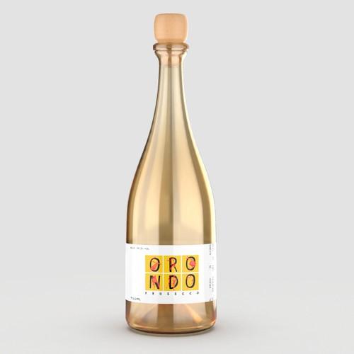 Orondo Wine Label