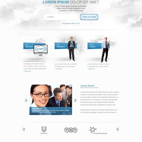 Help Cloudsafe365.com with a new website design