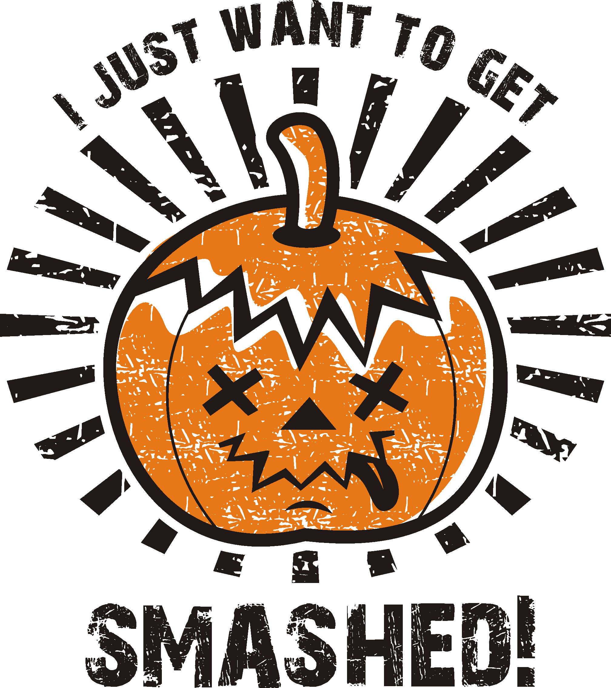 Halloween Themed T-shirt for Nightlife Party - Image & Text