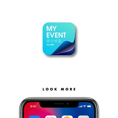 My Event By Lully Icon App Design