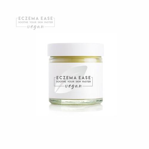 Eczema balm logo design