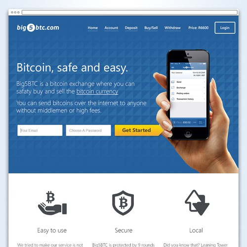 Help us build the best looking bitcoin exchange on the planet