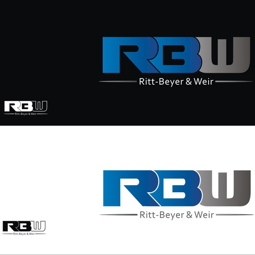 Create a new modern logo for RBW