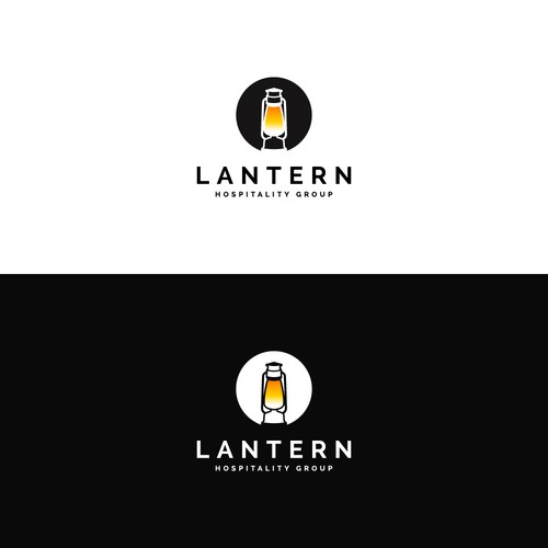 Simple & modern logo concept for Lantern Hospitality Group