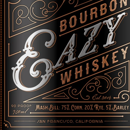 Bourbon Bottle Design