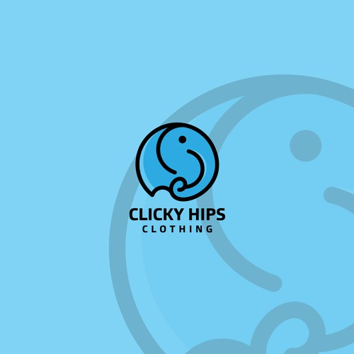 Clicky Hips Clothing logo