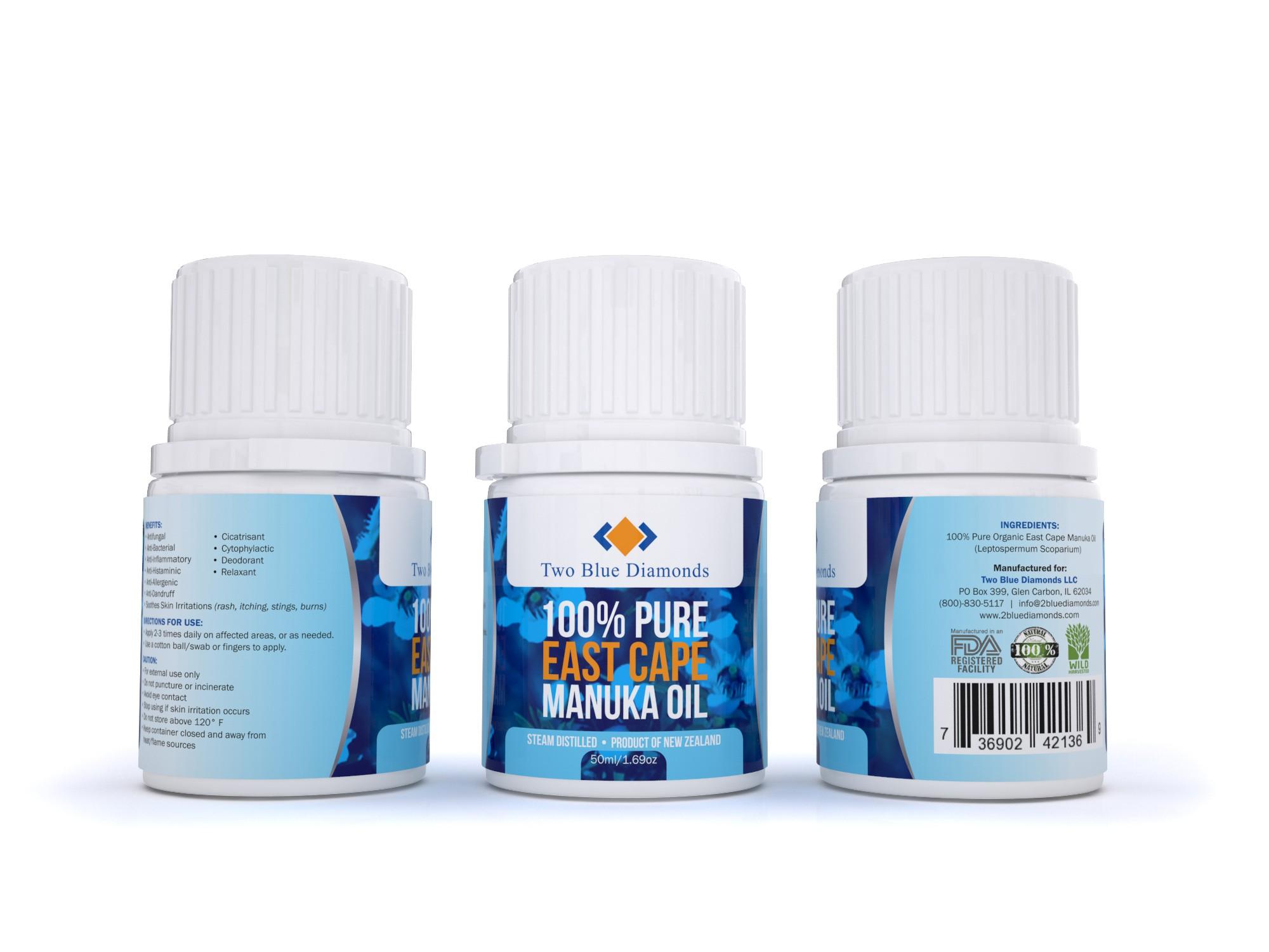 Manuka Oil 50ml Label - Modification 1
