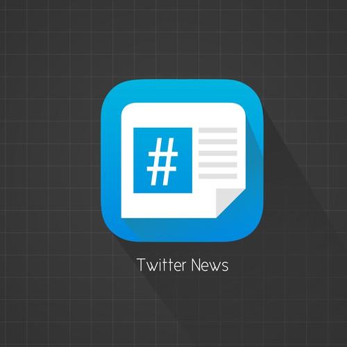 iOS Twitter News App