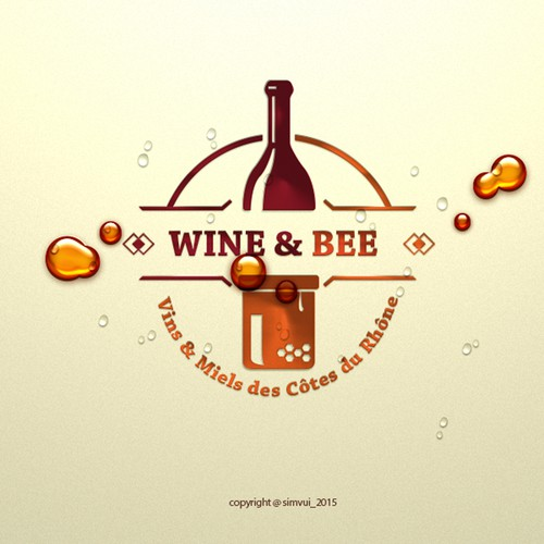 Wine & Bee logo