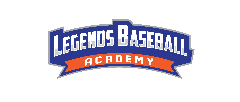 Logo for baseball training facility - Legends Baseball Academy