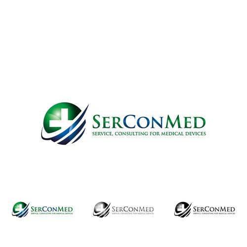 Bold Logo Concept for SerConMed