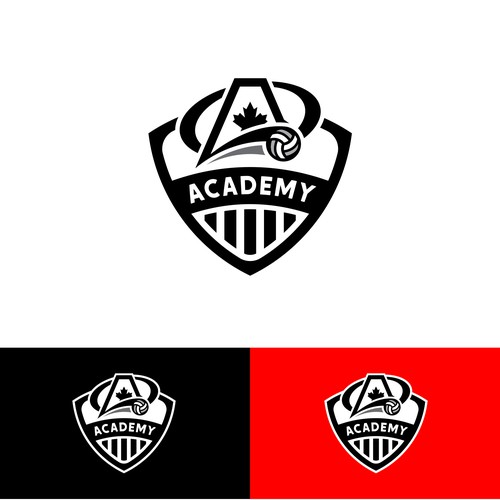Volleyball club needs powerful new logo
