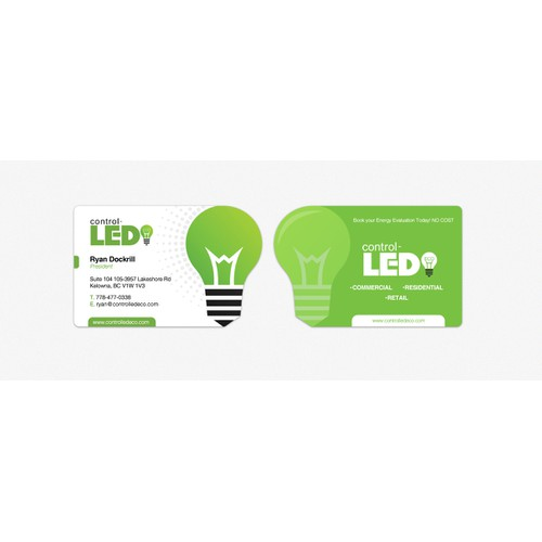 New stationery wanted for LED Eco Lighting Company
