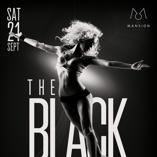 The Black chapter flyer