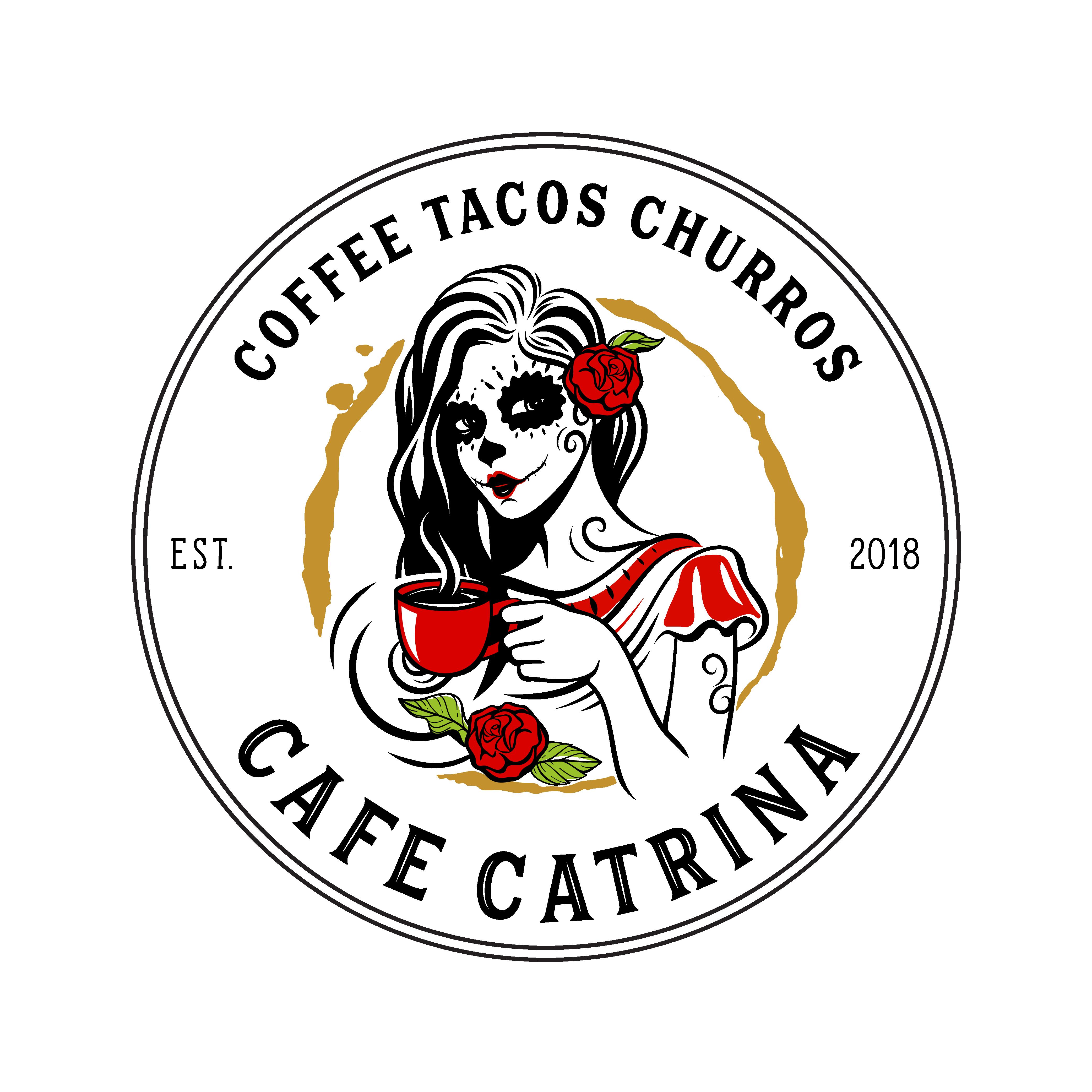 Bring Cafe Catrina's logo to life