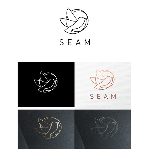 Elegant logo for fashion brand