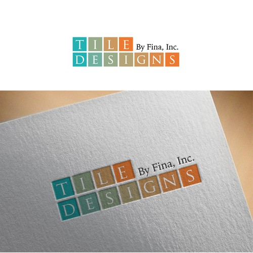 Tile Designs logo concept