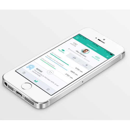 Create a stunning and comprehensive app to promote energy efficiency