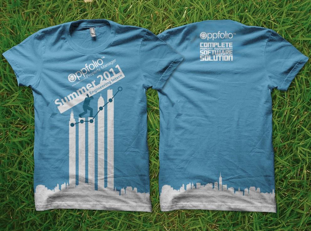 t-shirt design for AppFolio