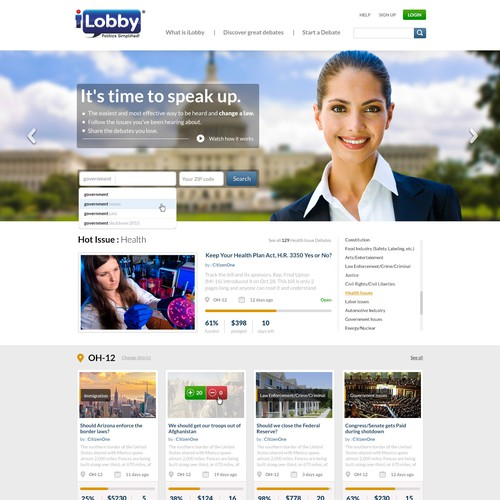Create a winning design for iLobby