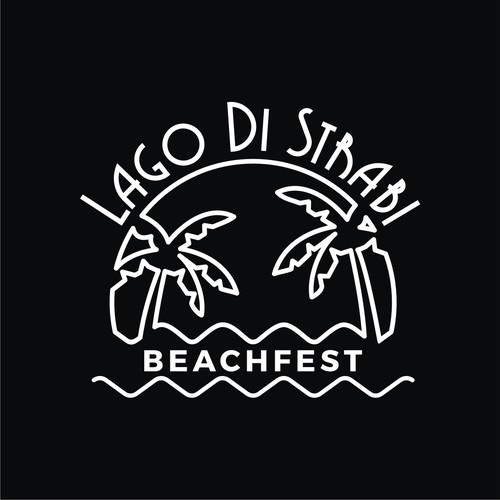 logo for beachfest