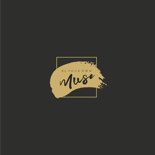 Logoconcept for black luxury utensilbox for fine artists