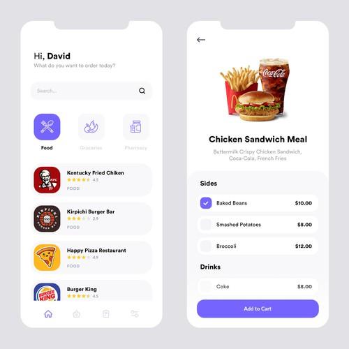 Clean ordering app