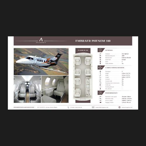 Presentation Templates for Jet Agency