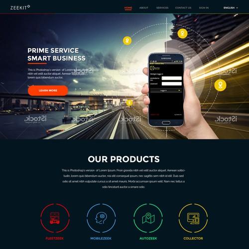 Zeekit Homepage
