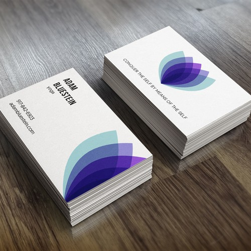 Business Card for a Yoga instructor