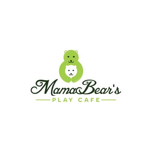 Mama Bear's Play Cafe Logo