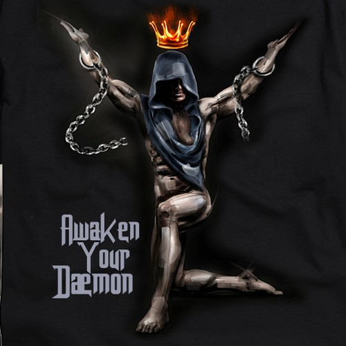 Awaken your Daemon, T-shirt