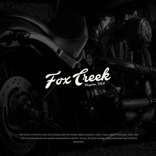 In contest Biker leather apparel company needs authentic, masculine & original logo
