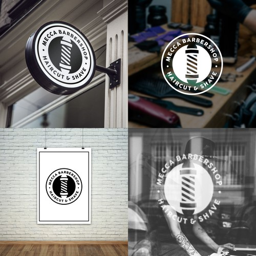 Balance Logo for Barbershop