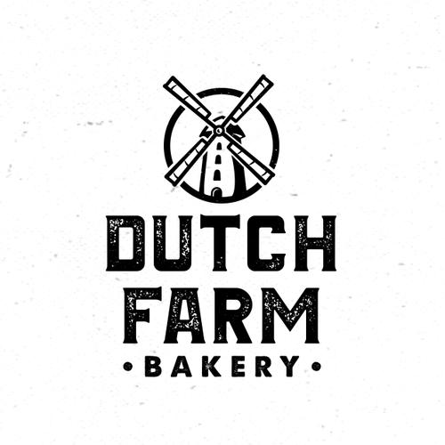 Logo for Dutch Farm Bakery.
