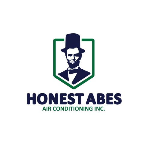 Honest Abe's - Air Conditioning Logo