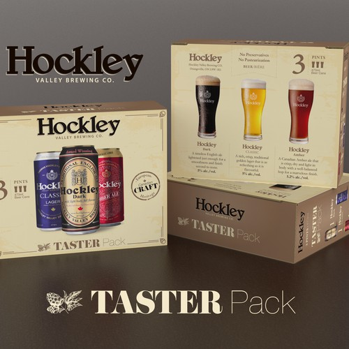 Hockley Taster pack box