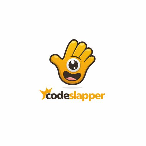 Logo for code slap.