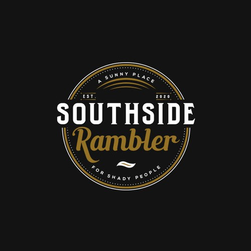 Logo for a new restaurant & bar