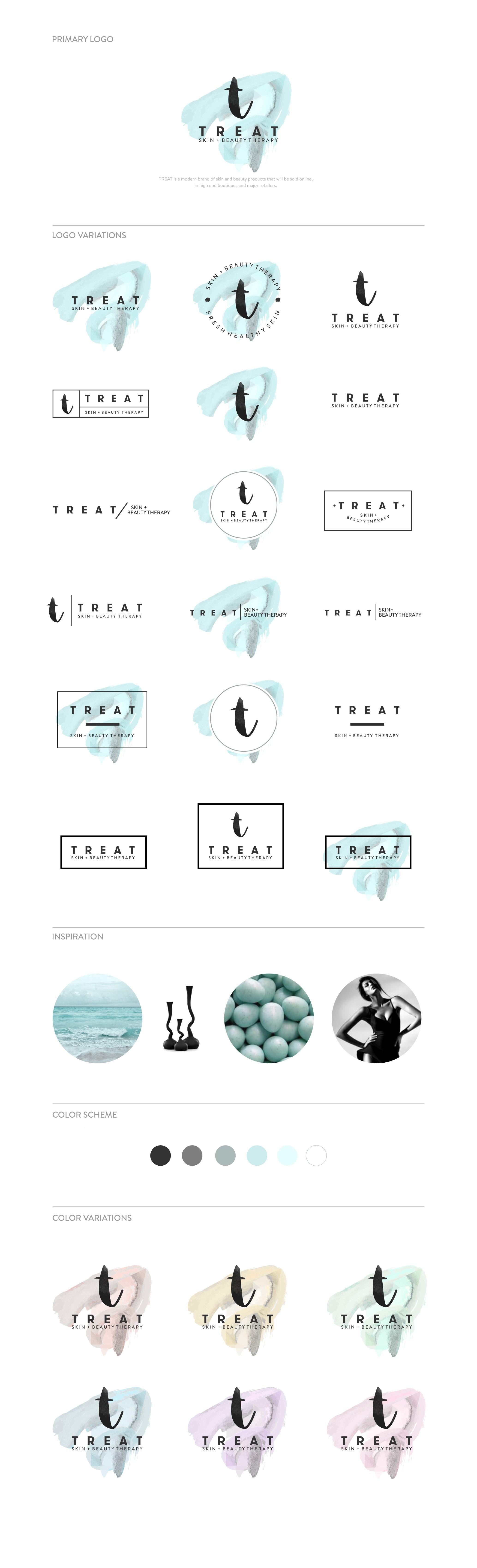 Fresh Modern Luxury Skincare Brand needs CREATIVE eye catching logo & supporting elements