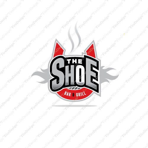 Create a logo for an Ohio State University themed Sports Bar and Grill