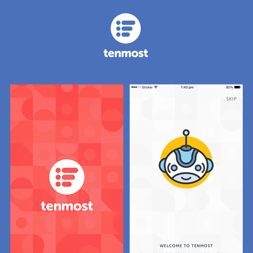 UI/UX Design for Tenmost IOS app